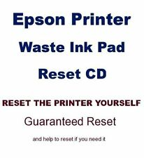 EPSON EXPRESSION HOME XP312 WASTE INK PADS RESET CD,  reset the printer yourself