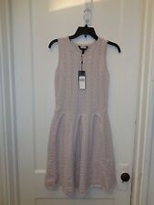BCBG MAX AZRIA CYDNEY CABLE KNIT WOOL SWEATER DRESS NEW SIZE S $238.00
