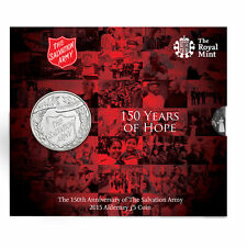 The Royal Mint 150th Anniversary of the Salvation Army 2015-SA15BU