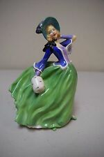 "Vintage ROYAL DOULTON ""Autumn Breezes"" HN 1913  Figurine 7 1/2"" Tall"