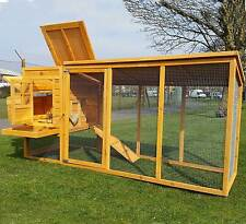 LARGE CHICKEN HEN HOUSE COOP POULTRY ARK RUN BRAND NEW AND TREATED