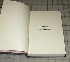 1966 LE TRESOR DES LETTRES FRANCAISES La Princesse de Cleves HC FRENCH Book