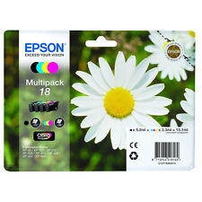 Epson Genuine Daisy T1806 18 4-Ink Multipack for Expression Home XP-212 XP-312 X