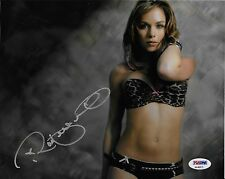 Rachelle Leah Signed UFC Playboy 8x10 Photo PSA/DNA COA Picture Autograph MMA 4