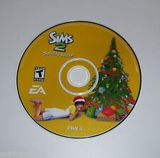 Disk 4 ONLY for The Sims 2 : Holiday Edition - PC CD-ROM Game Replacement