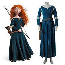Brave Princess Merida Renaissance Kleid Kostüm Verkleidung Fasching Karnival Neu