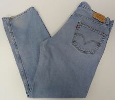 Levis Mens 550 Relaxed Fit Blue Jeans 36x32 36/32 FREE SHIPPING 485