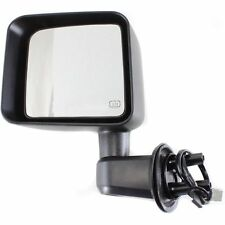 2011-2012 JEEP WRANGLER POWER HEATED BLACK MIRROR LH DRIVER