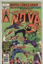 Nova #15 November 1977 VG- Spider-man, Hulk, Iron man, Captain America