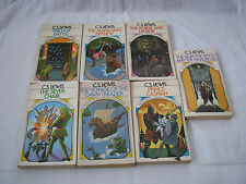 Group of Seven 1970 C. S. Lewis Paperback Books