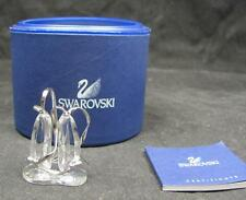 SWAROVSKI 663596 ANNA BALLET SHOES CRYSTAL FIGURINE MINT IN BOX COA 273-042F