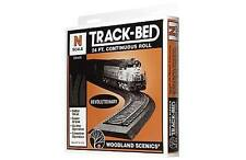 Woodland Scenics ST1475 N Gauge Track-Bed -  24' Seamless Pack - 1st Class Post
