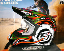 SUOMY MR. Jump Assault Cross Helm Enduro Quad Grün NEU S Kawasaki KX-F Thor UFO