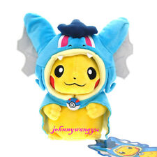 New Pokemon Magikarp Pikachu Gyarados Cosplay Plush Stuffed Animal Doll Toy Blue
