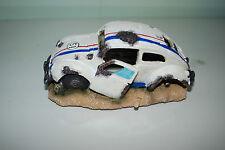 Aquarium VW Herbie voiture décorative & Bulle Gaz d'échappement Taille 40 x 10