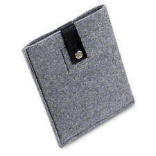 Handmade Wool Felt Carry Case Sleeve for Amazon Kindle Fire HD 7 Inch / Grey
