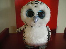 Ty Beanie Boo LUCY the owl 6 inch NWMT. Justice Exclusive.LIMITED QUANTITY.