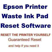 EPSON STYLUS PHOTO R2400 PRINTER WASTE INK PAD SERVICE ERROR FAULT RESET  DISC