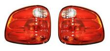 Fits 00 01 02 03 Ford F150 Taillight Pair Set NEW Flareside and Super Crew only