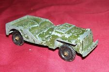Old Tootsietoy Toy Jeep Diecast Vintage Vehicle Army Kids 1/43 Scale 1:43 US 50s