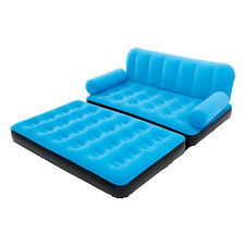 Bestway Multi-Max Air Couch With Sidewinder AC Air Pump - Blue | 10025