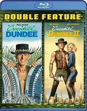 CROCODILE DUNDEE 1 & 2 Movie Pack   -  Blu Ray - Sealed Region free for UK