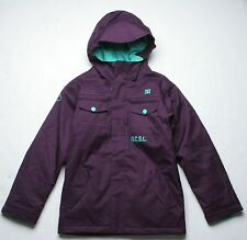 DC Shoes Girls Servo Snowboard Jacket (M) Purple Pennant