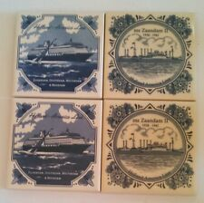 Holland America Line (set of 4 tiles)