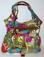 Fossil Canvas Hobo Tote Bag-Print- Key- ZB4302