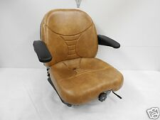 TAN SUSPENSION SEAT,SCAG,HUSTLER,EXMARK,BOBCAT,BUNTON,DIXIE CHOPPER,ZTR #HA