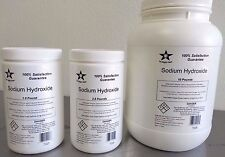 Sodium Hydroxide 98% Pure Microbeads 5 Lb (Caustic Soda, Lye) Food Grade 7025