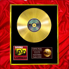 DOORS LA WOMAN CD GOLD DISC LP FREE P+P!