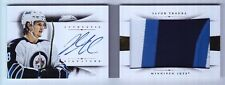 2013-14 National Treasures Jacob Trouba Jumbo Patch Auto Booklet Rc (04/25)
