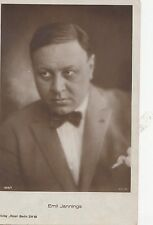 B79982 emil jannings  actor movie star front/back image