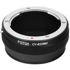 Fotga Contax Yashica CY Lens To Canon EOS M M2 M3 EF-M Mirrorless Camera Adapter