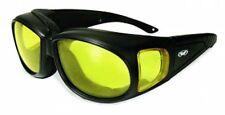 Gafas de lente Acolchado bajo luz amarilla se adapta sobre las recetas Ideal 4 cara abierta