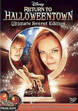 Return to Halloweentown (DVD, 2007, Ultimate Secret Edition) DISNEY