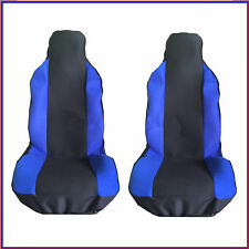 FORD FIESTA ST 05-08 FRONT SEAT COVERS RACING BLUE PANEL 1+1