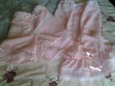 Beautiful Pink Nylon Camisole & French Pantie Set Sissy CD TV Lingerie for Men