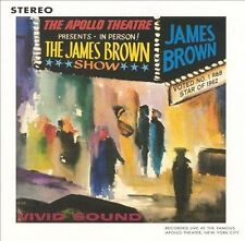 James Brown Live At The Apollo King Record 1962 Univeral Music 2004 CD New