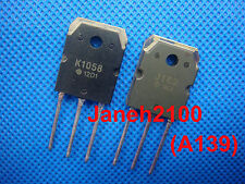 2 pair 2SJ162 & 2SK1058 P-Channel N-Channel MOSFET TO-3P transistor (A139)