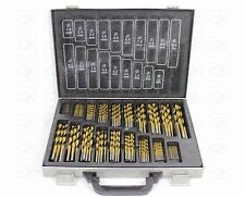 170pc Engineering Drill Set Precision 4241 HSS Steel 1 - 10mm Steel Case