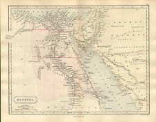 Antient GEOGRAPHY MAP by Samuel Butler 1869-AEGYPTUS
