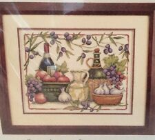 """Dimensions Tuscan Flavors Counted Cross Stitch Kit 14"""" x 11"""" #35232 Susan Winget"""