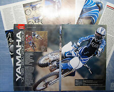 MOTOCROSS03-PROVA / TEST CROSS-2003- YAMAHA YZ 125-250/250F-450F - 5 fogli