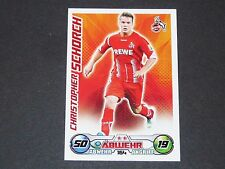 SCHORCH 1. FC KÖLN TOPPS MATCH ATTAX PANINI FOOTBALL BUNDESLIGA 2009-2010