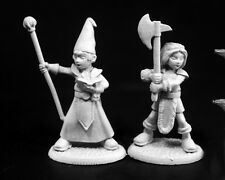 Adventuring Kids Reaper Miniatures Dark Heaven Legends Wizard Barbarian RPG