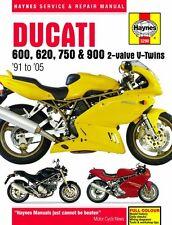Haynes M3290 Service & Repair Manual for 1991-05 Ducati 600 / 620 / 750 / 900
