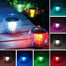 LED Light Solar Power Swimming pool Automatical Color-changing Floating Ball bid