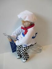 BOSTON WAREHOUSE GRANDPA COOK CHEF ON WHISK KITCHEN WITCH
